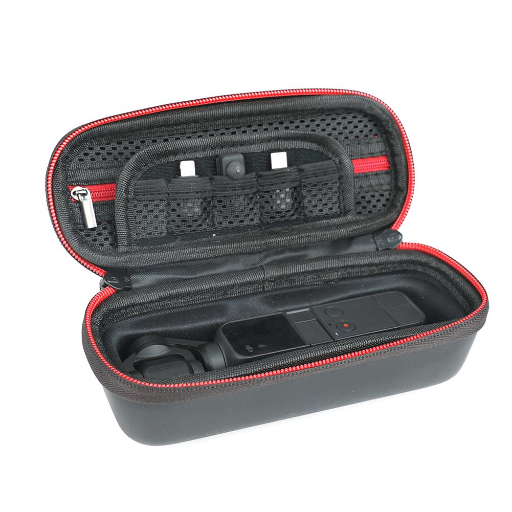 fpv-system RCSTQ Multifunctional Storage Bag Handbag Black for DJI OSMO Pocket 2 FPV Gimbal Camera HOB1805258