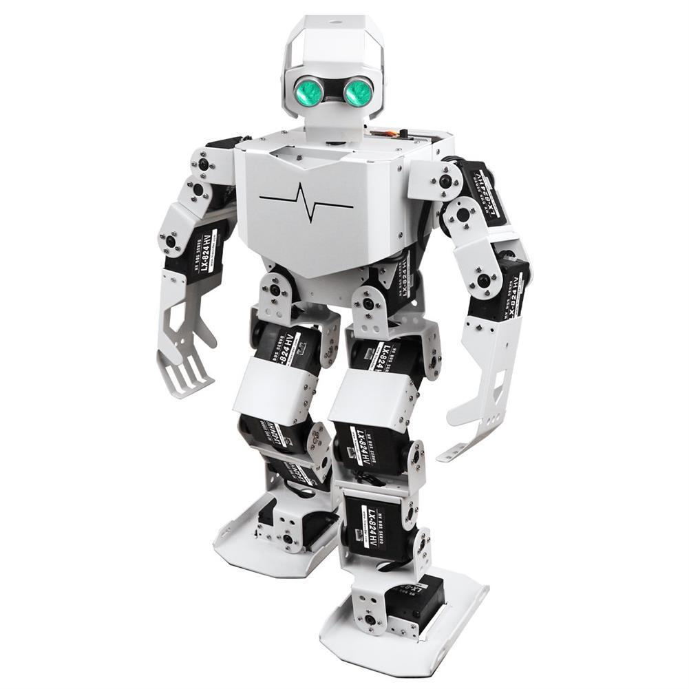 smart-robot Hiwonder Tonybot Programming Humanoid Robot with 16 High Voltage Bus Servos 10 Action Groups HOB1806551