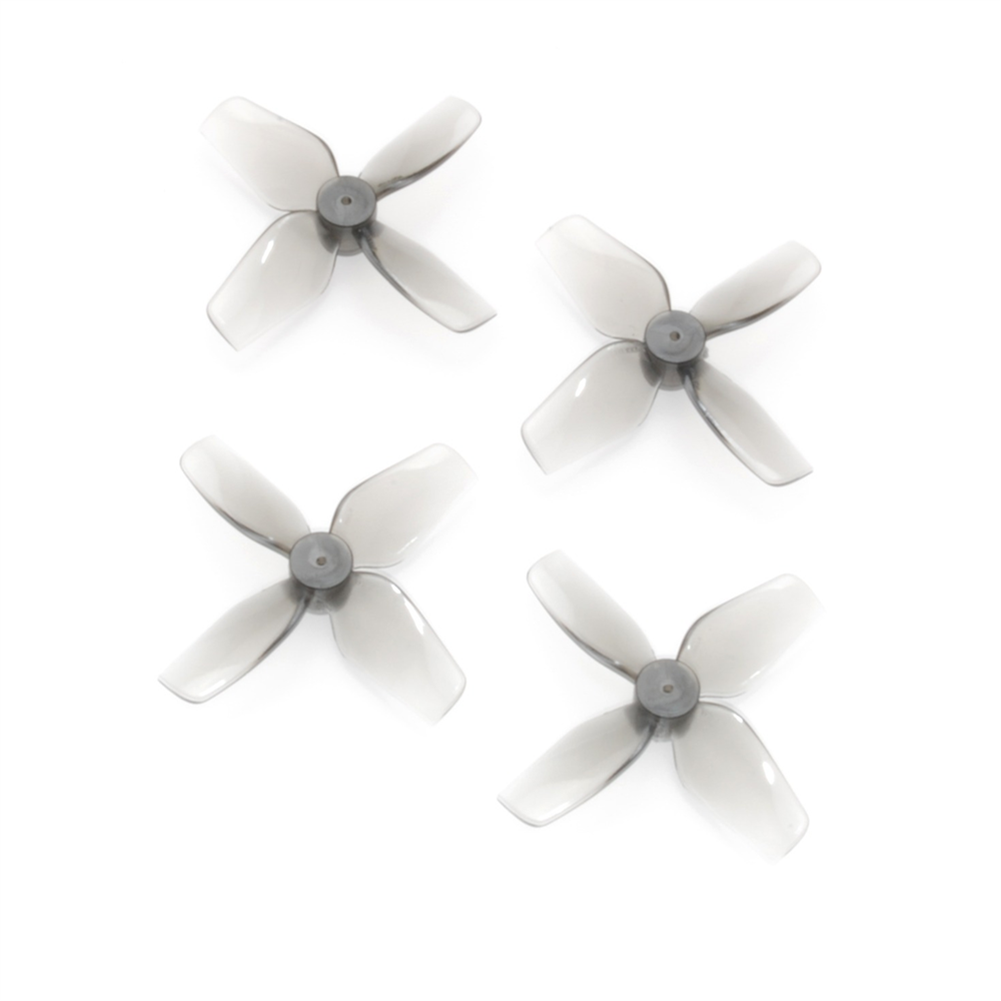 multi-rotor-parts 2 Pairs HQProp Micro Whoop Prop 40mmx4 40mm 4-Blade Propeller 1.0mm Shaft for TinyWhoop RC Drone FPV Racing HOB1807042