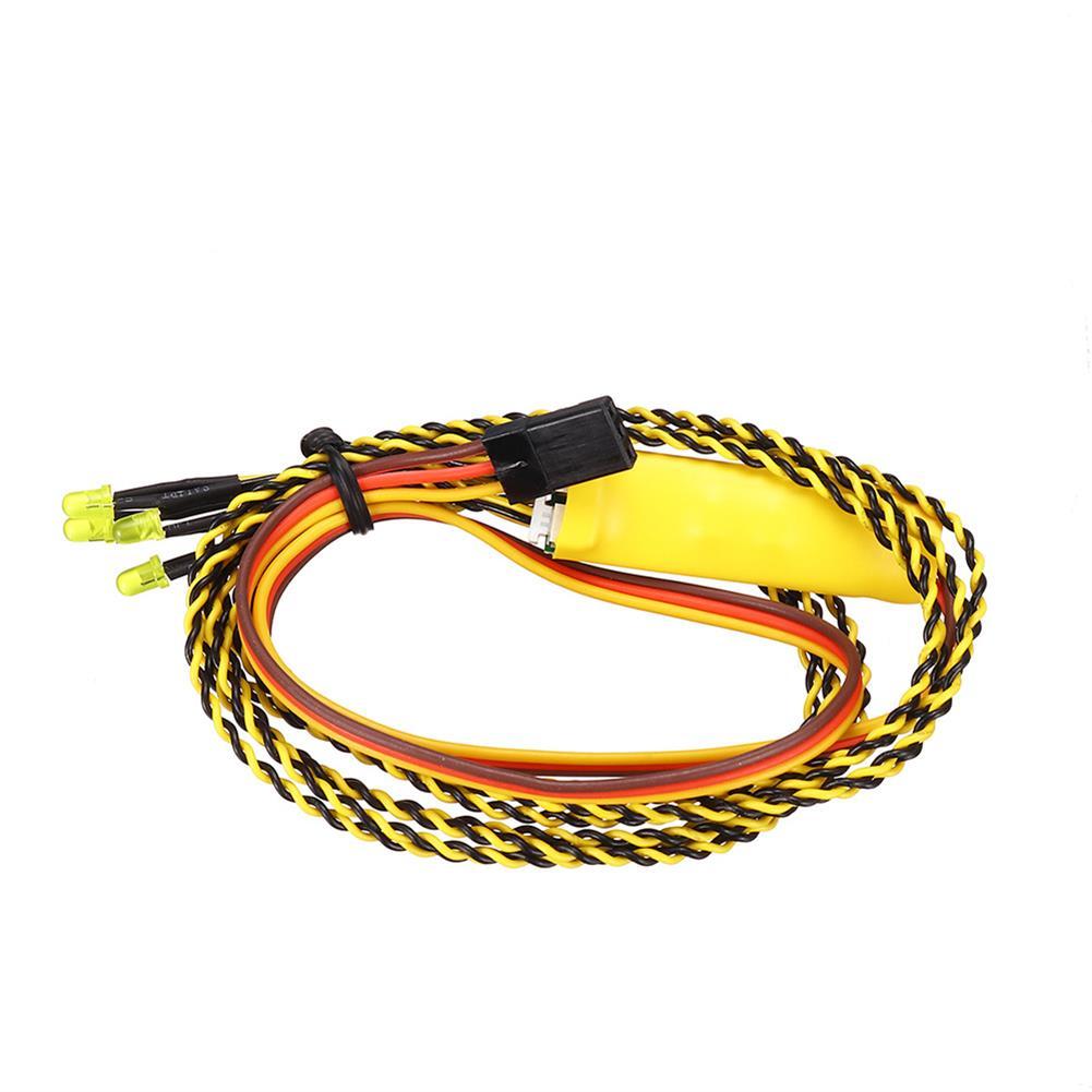 rc-car-parts WPL D12 RC Car LED Light Transmitter Receiver ESC Vehicle Models Parts HOB1807049 3