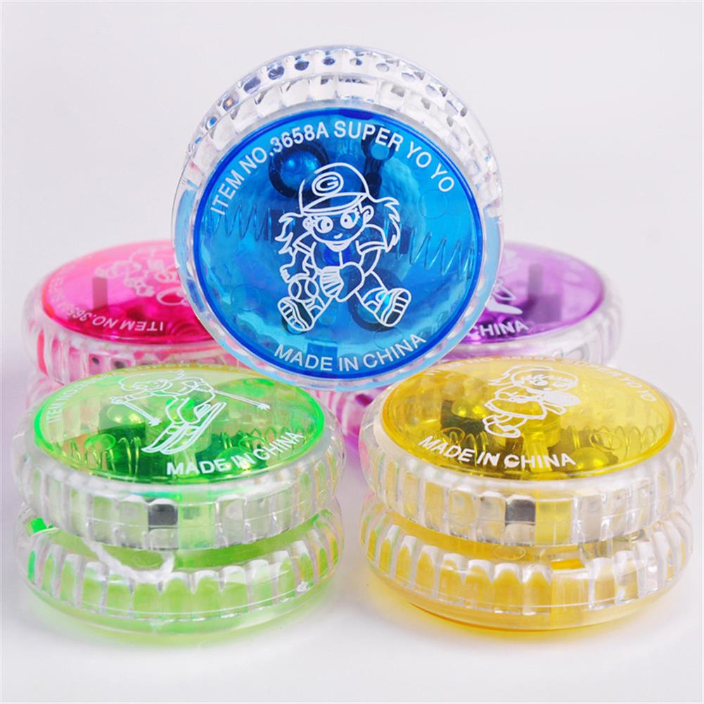 yoyo-gyro-toys Plastic Or Alloy Glowing Yoyo New Exotic Fidget Toys for Kids And Adults HOB1807233