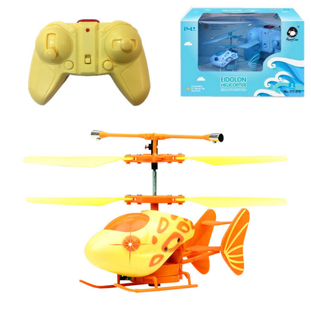 rc-helicopter 777-575 2.4G 2CH Altitude Hold RC Helicopter RTF Alloy Electric RC Model Toys HOB1807521 1