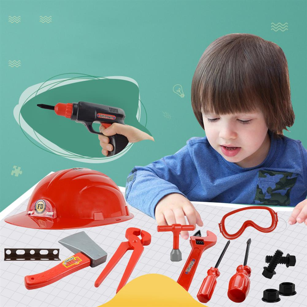 sorting, nesting-stacking-toys Children's Simulation Play House Toy Toolbox Electric Drill Maintenance Tool Set Gift for Boy Gift HOB1807830 1