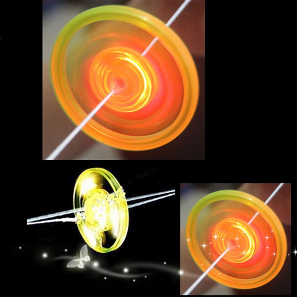 yoyo-gyro-toys Pull String Flashing Flywheel Flashing Top Childhood Classic Toy for Kids And Adluts HOB1809400 1
