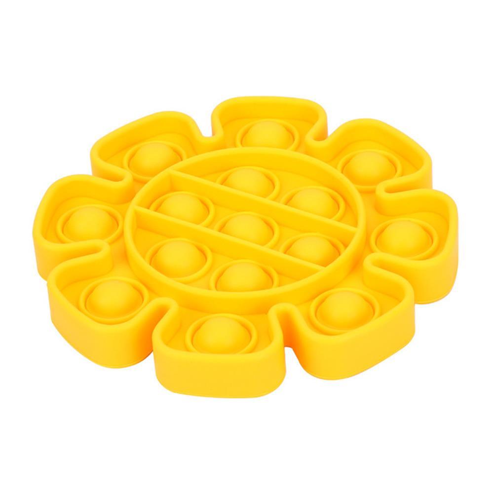 stress-relievers 4-color Flower Style Children's Mathematical Mental Arithmetic Concentration Silicone Decompression Toys Desktop Educational Fidget Toys HOB1809402