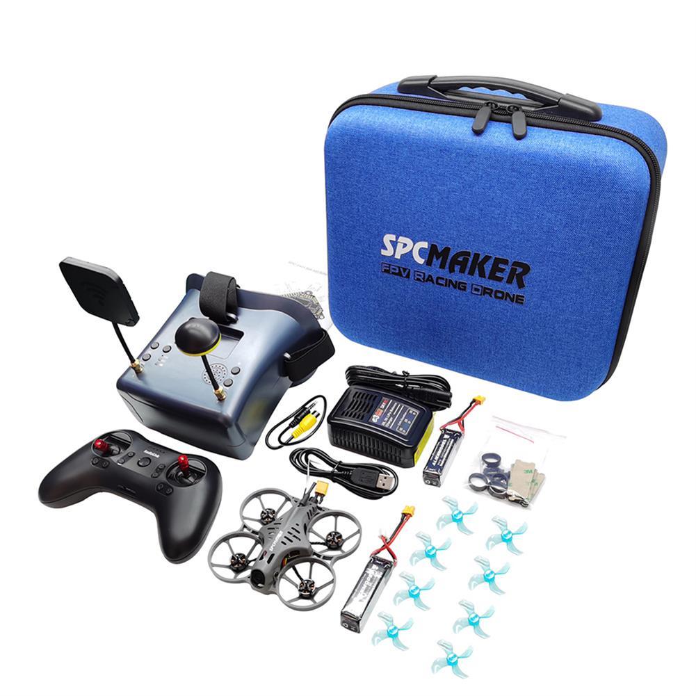 fpv-racing-drone SPCMaker Bat78-X 78mm F4 AIO 20A ESC 2S Whoop FPV Racing Drone BNF w/ 25-400mW VTX Runcam Nano 2 Camera FPV Goggles Radio Transmitter HOB1810611