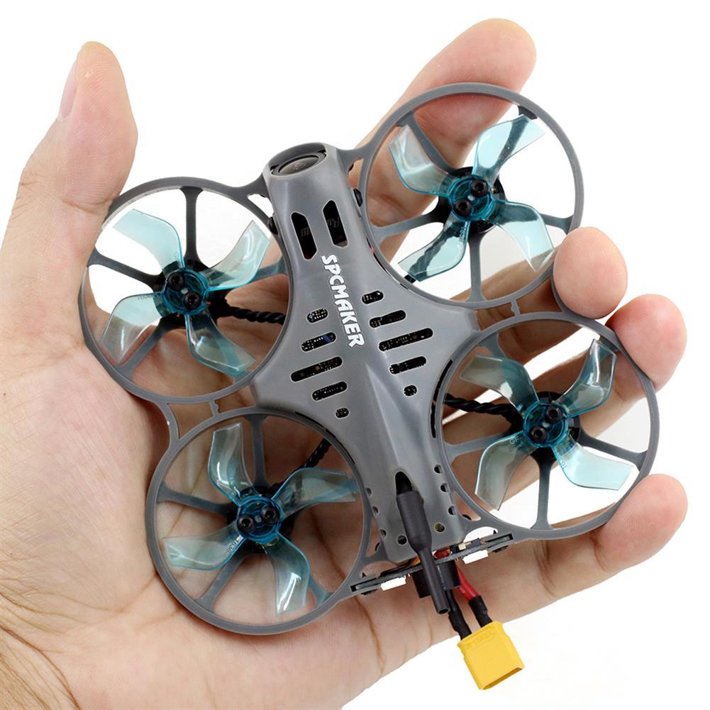 fpv-racing-drone SPCMaker Bat78-X 78mm F4 AIO 20A ESC 2S Whoop FPV Racing Drone BNF w/ 25-400mW VTX Runcam Nano 2 Camera FPV Goggles Radio Transmitter HOB1810611 2