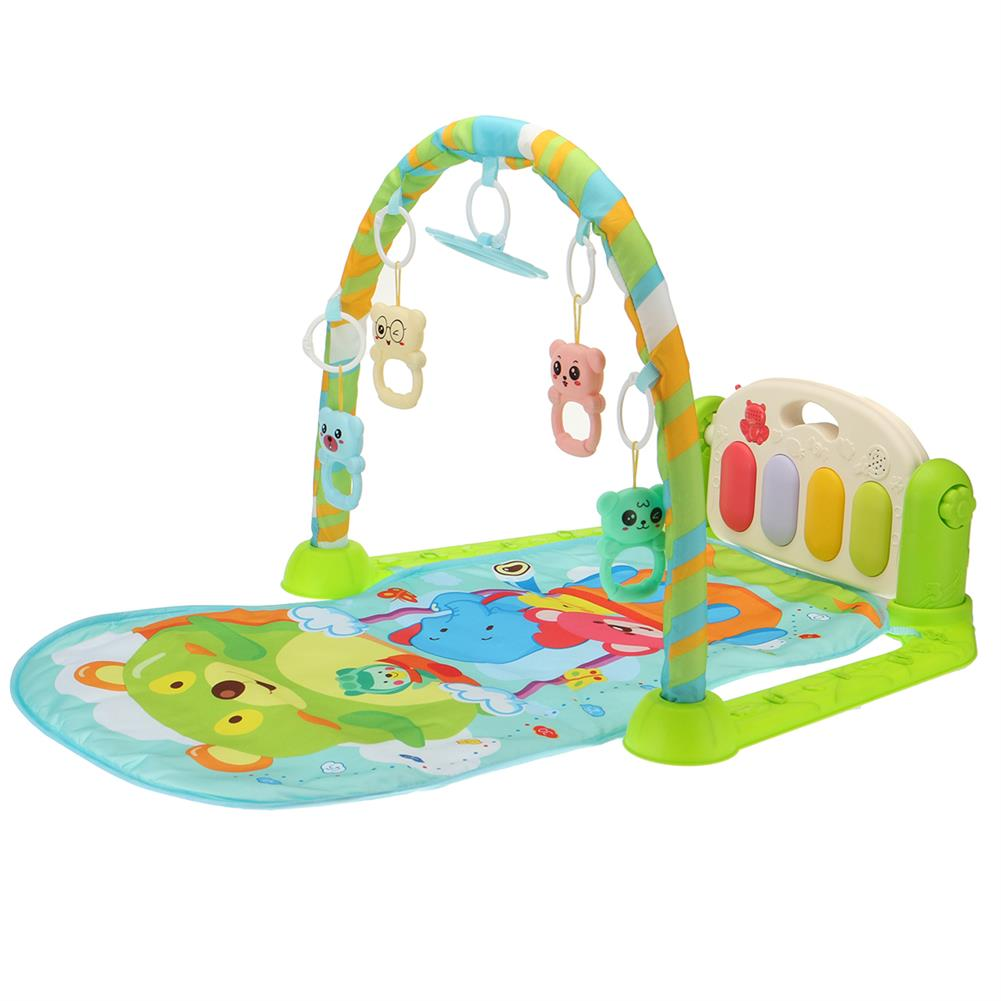 play-mats Musical Baby Activity Playmat Gym Multi-function Early Education Game Blanket for Baby Development Playmats HOB1811790 1