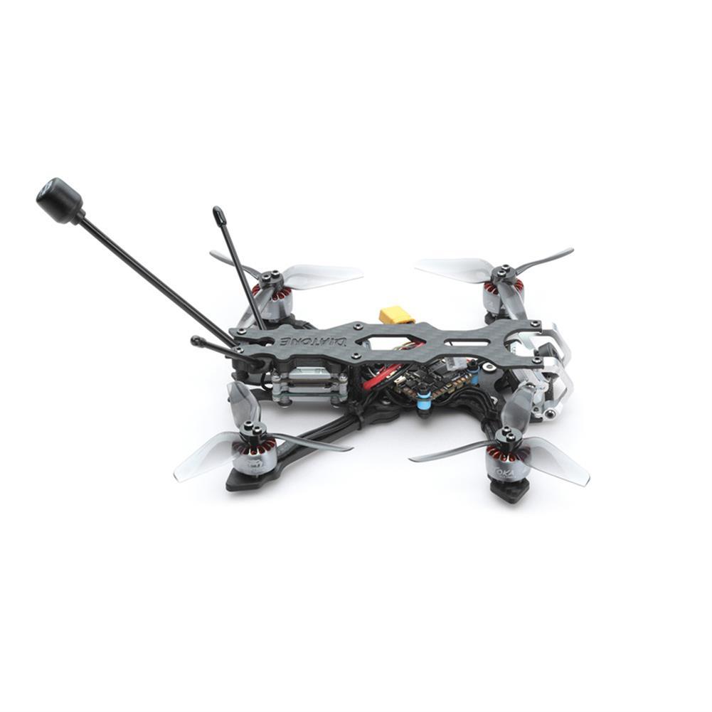 fpv-racing-drone Diatone Roma L3 3 inch 4S FPV Racing Drone BNF NEBULA PRO Vista HD MAMBA F411 AIO FC 25A ESC 1206 3600KV Motor HOB1813285 3