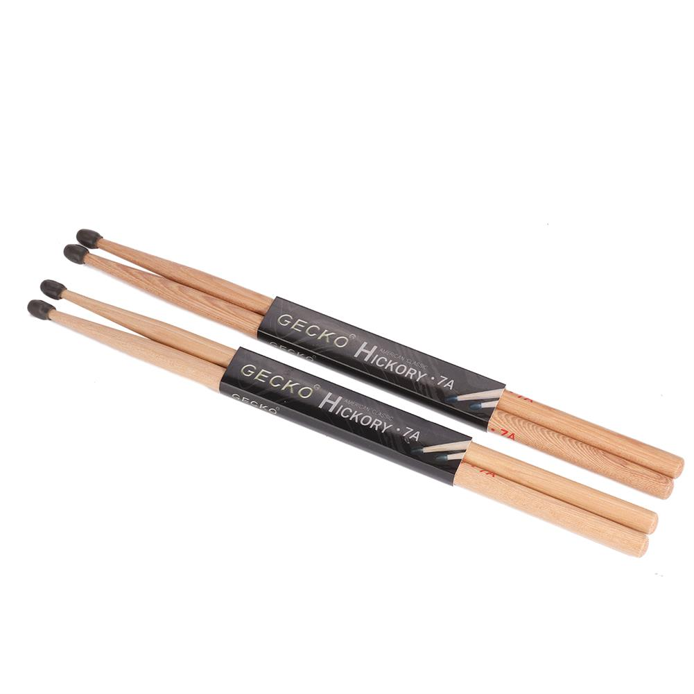 percussion-accessories GECKO 7A Drumsticks Water Drop Hammerheads Clic for Adults and Students HOB1813561