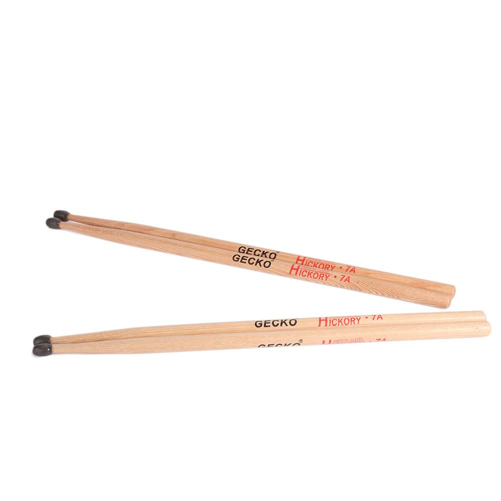 percussion-accessories GECKO 7A Drumsticks Water Drop Hammerheads Clic for Adults and Students HOB1813561 1