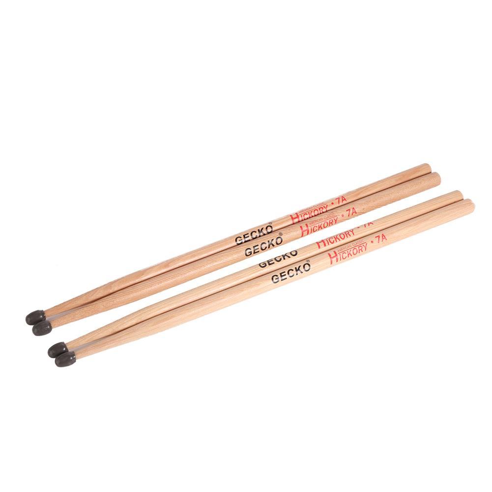 percussion-accessories GECKO 7A Drumsticks Water Drop Hammerheads Clic for Adults and Students HOB1813561 3