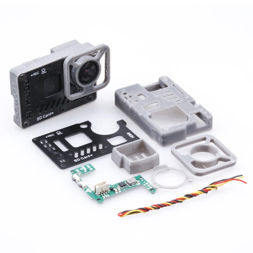 fpv-system Flywoo FPV Camera Lite Case with BEC Board for GoPro Naked GP6 GP7 Action Camera HOB1813581