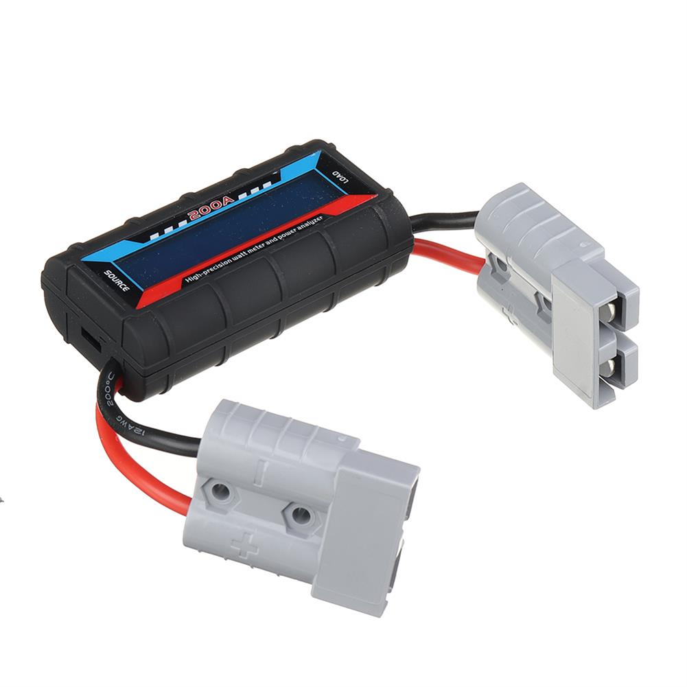 battery-charger 200A High Precision Backlight LCD Watt Meter Power Analyzer for Rc Drone HOB1815449