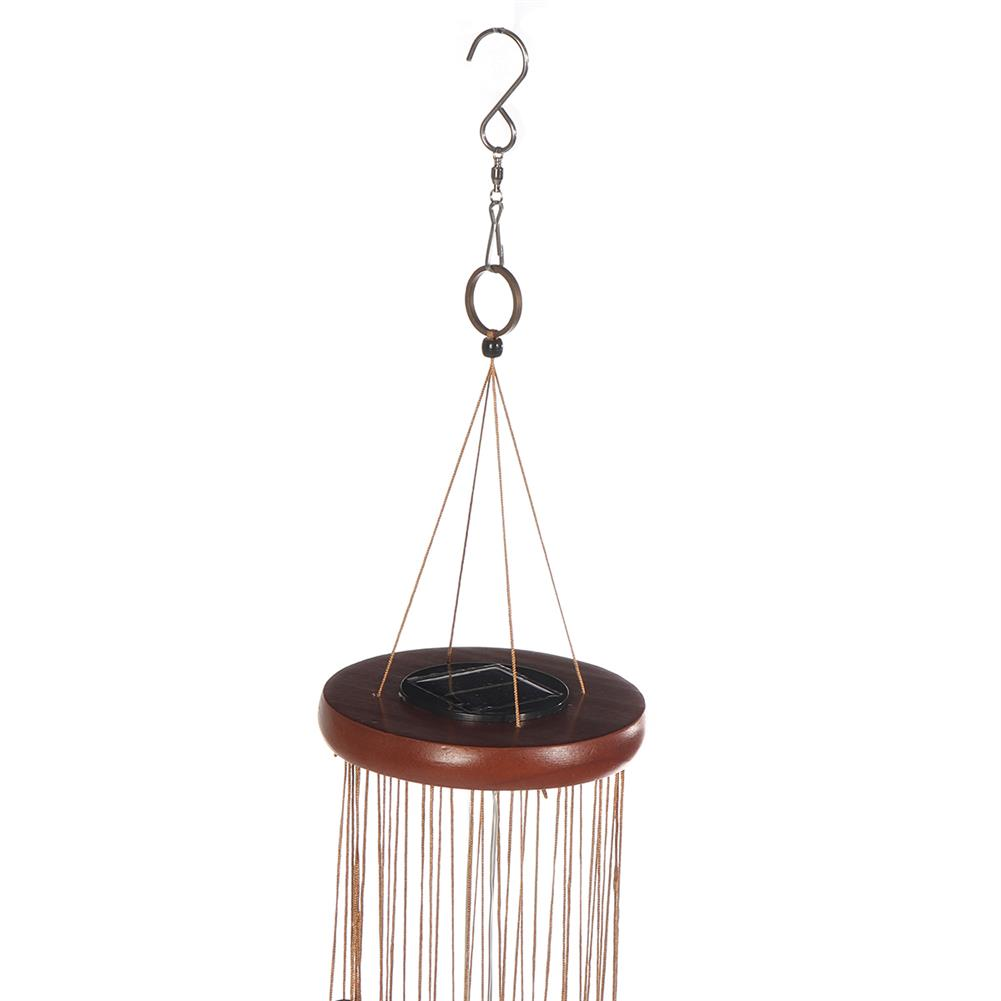 folk-world-percussion Solar Powered Lighting Wind Chimes,Large Wind Chimes,36 Garden Chimes with 18 Aluminum Alloy Tubes for Garden Patio Decor inch HOB1816052 1