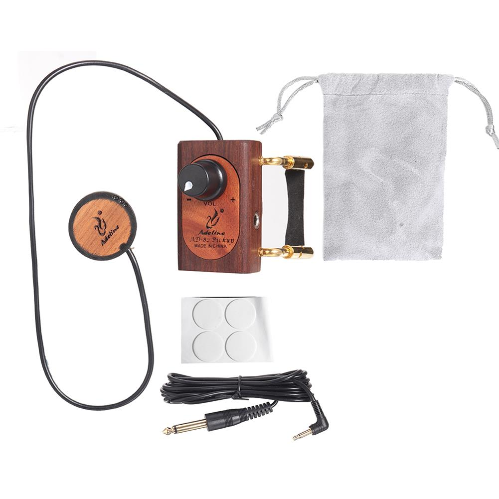 strings-accessories Adeline AD82 Preamplifier Adjustable Height Professional Violin Pickup HOB1817040