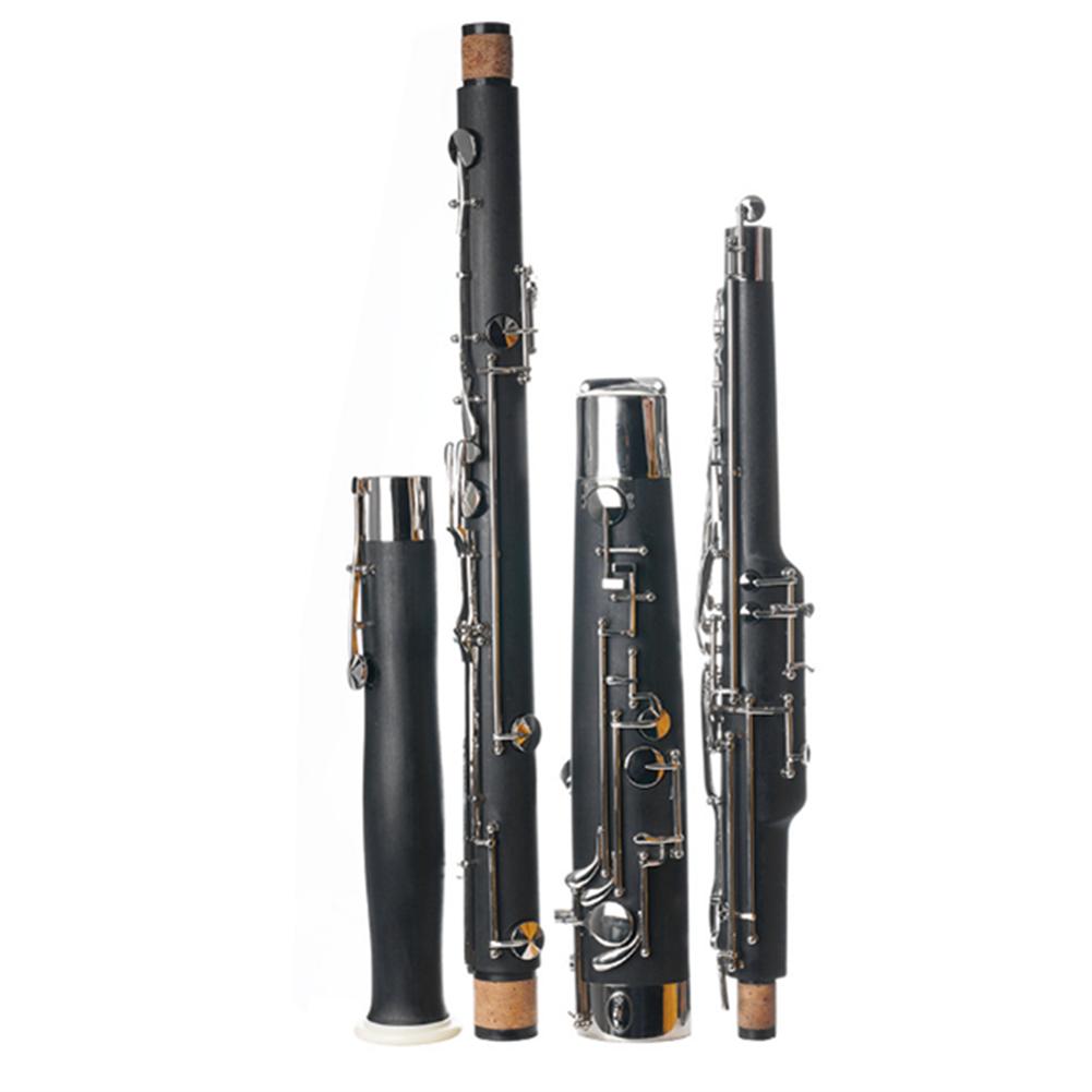 oboe C Key Bassoon Tube Synthetic Wood Tube Body Nickel Plated Key Oboe for Adult HOB1817046