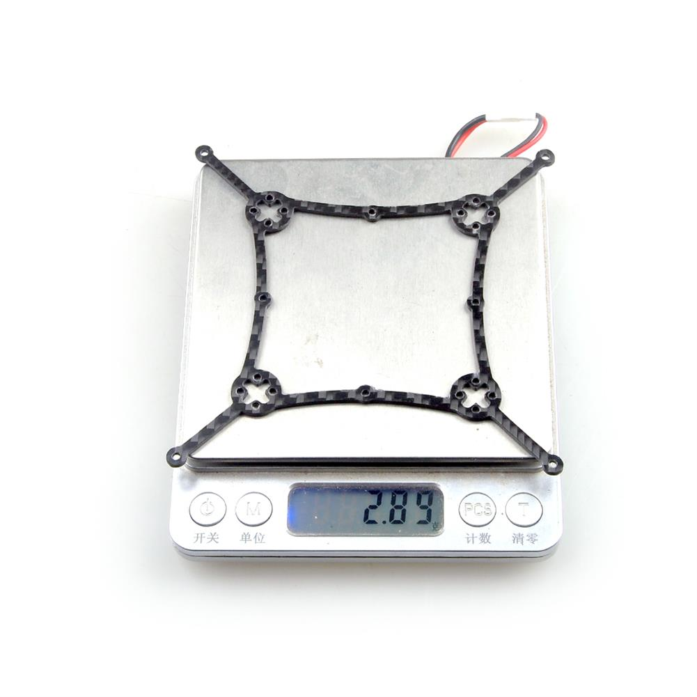 multi-rotor-parts Happymodel Cine8 Spare Part Replace Bottom Plate Board 3K Carbon Fiber for Mounting Motor RC Drone FPV Racing HOB1817308 1
