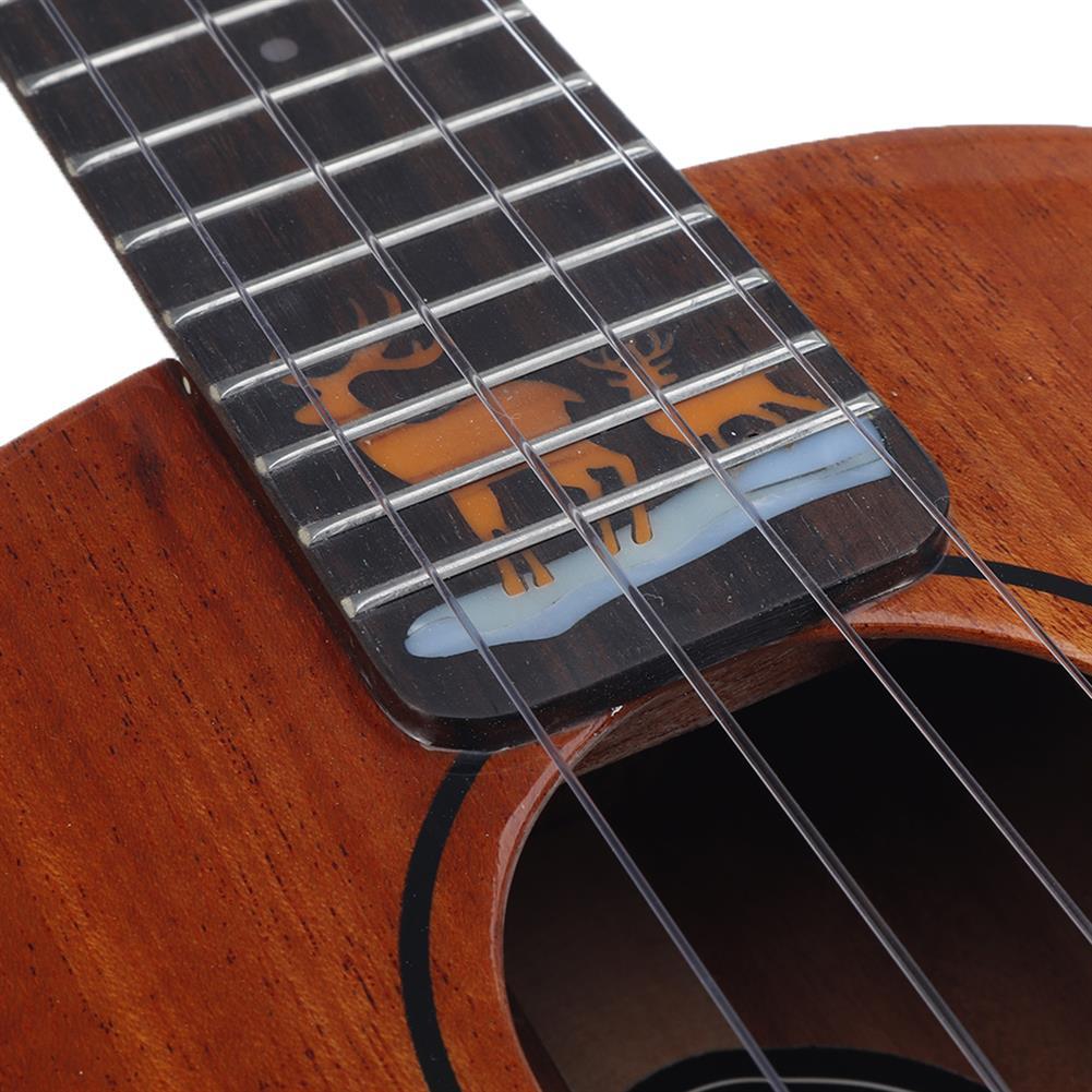 ukulele NALU 23 inch Solid Mahogany Ukulele with Bag HOB1817320 2