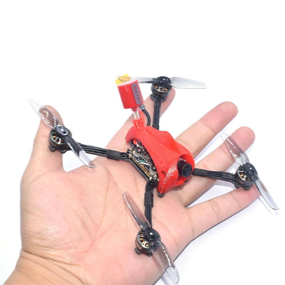fpv-racing-drone AuroraRC FUNNY125 2.5 inch 3S Toothpick FPV Racing Drone PNP/BNF AIO F4 FC 13A ESC 1103 8000KV Motor 1200tvl IRC Tramp 200mW VTX HOB1817975