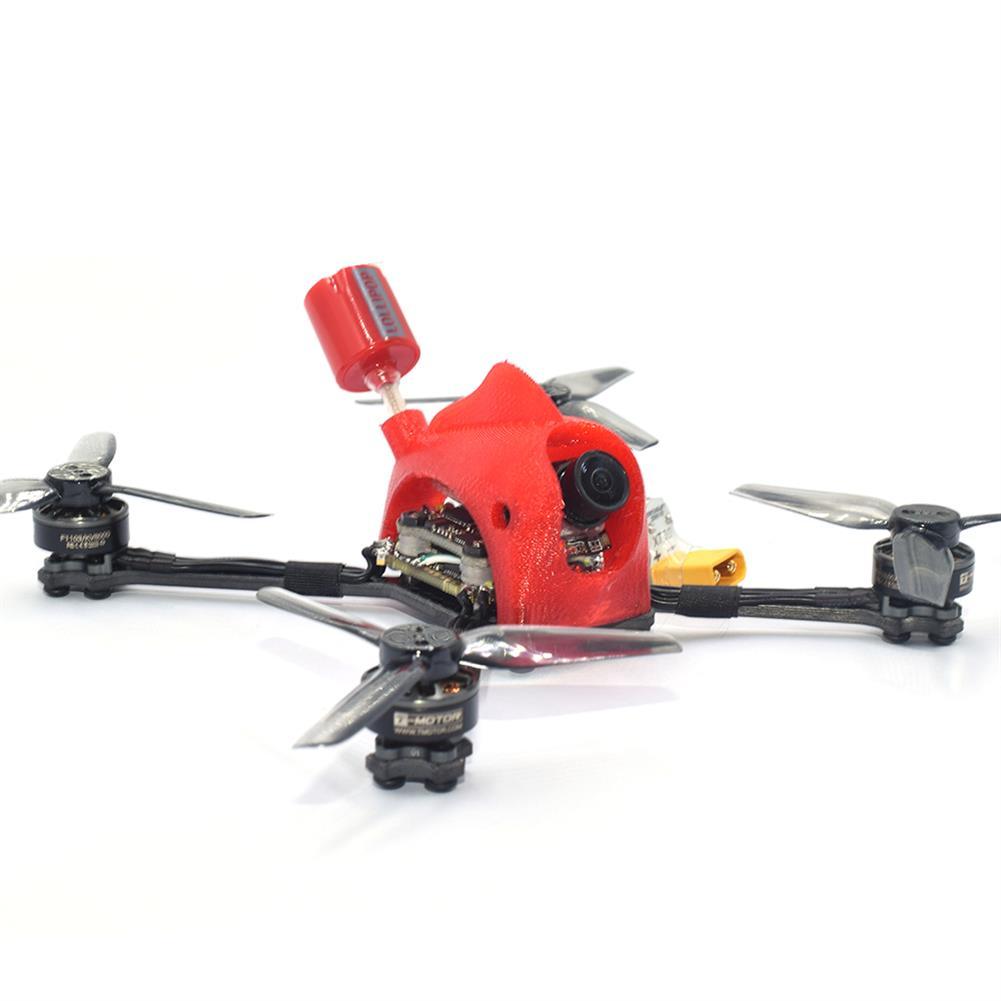 fpv-racing-drone AuroraRC FUNNY125 2.5 inch 3S Toothpick FPV Racing Drone PNP/BNF AIO F4 FC 13A ESC 1103 8000KV Motor 1200tvl IRC Tramp 200mW VTX HOB1817975 1