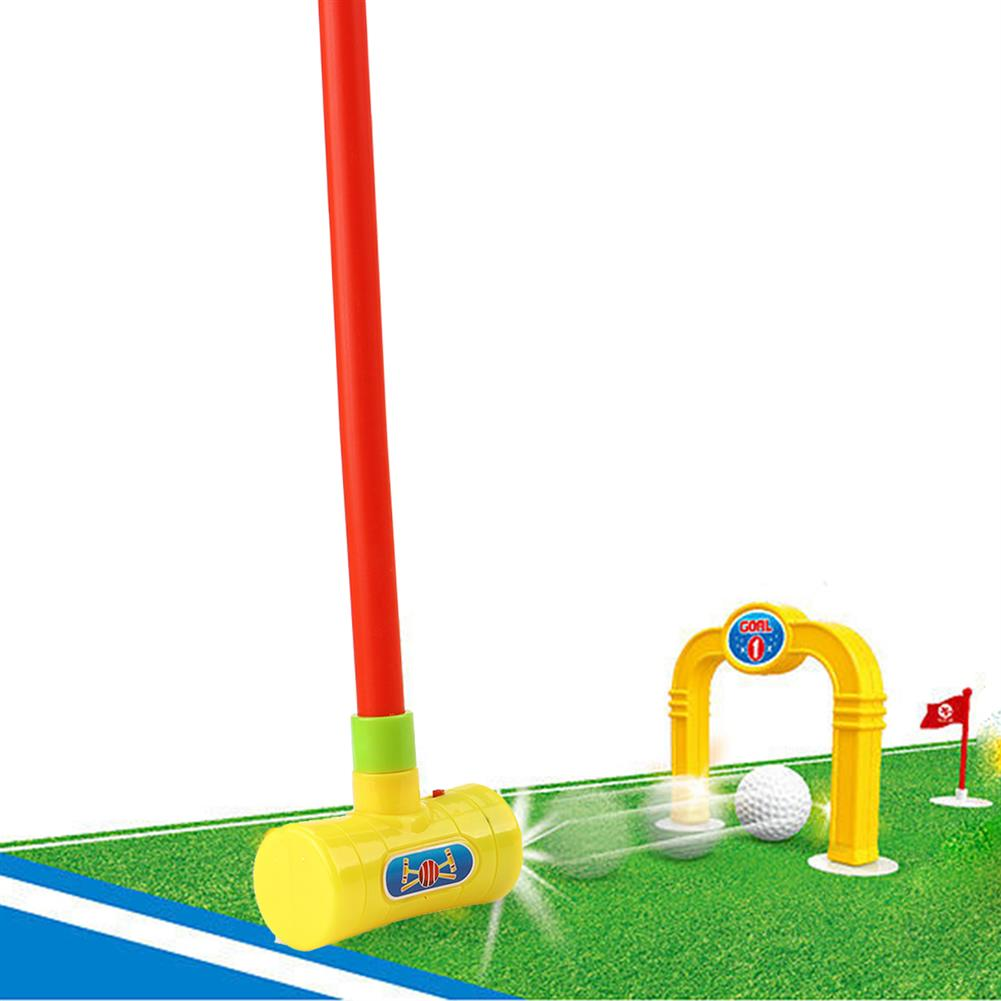 play-mats Mini Golf Professional Practice Set Golf Ball Sport Set Children's Toy Golf Club Practice Ball Sports for indoor Kid Games Golf Toy HOB1818016