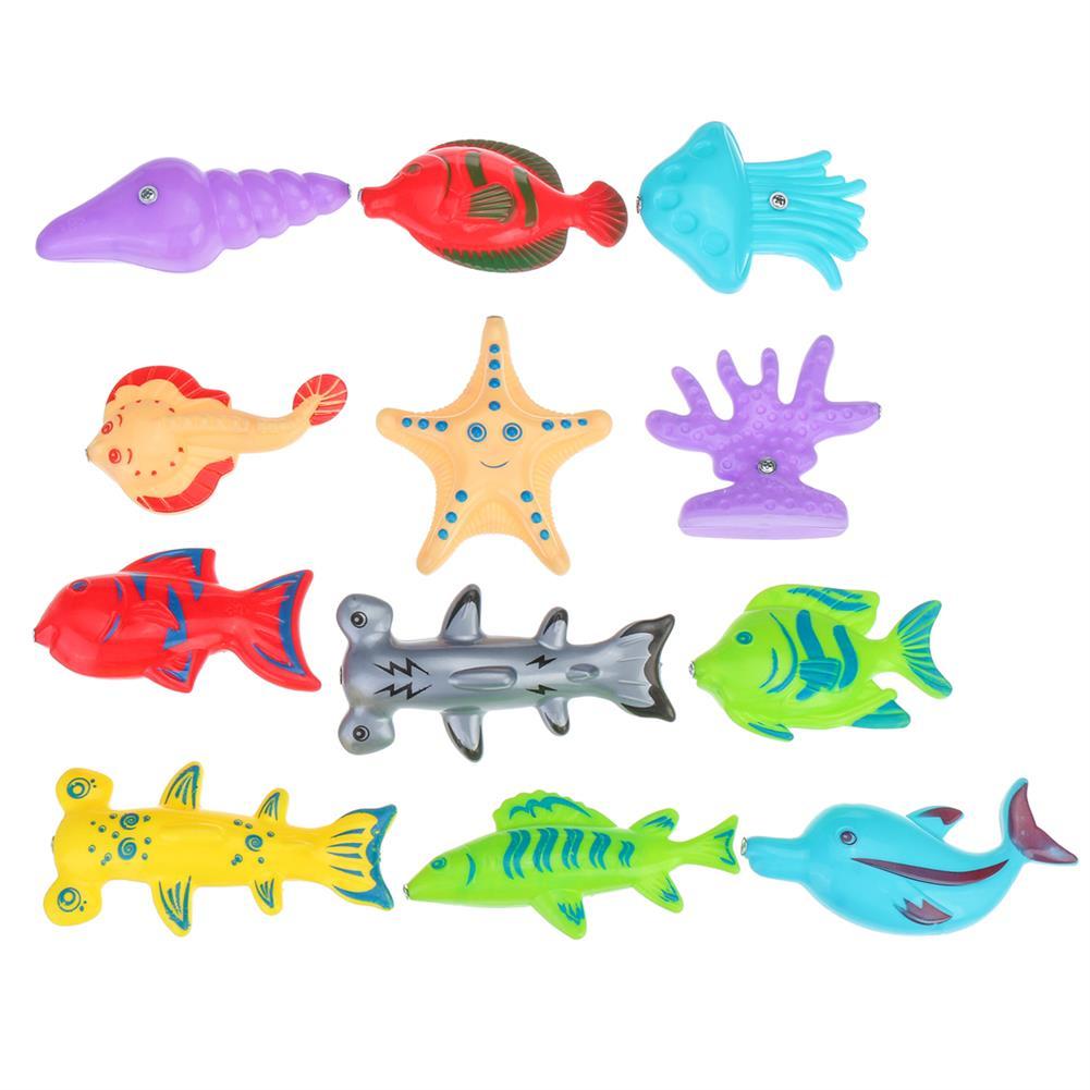 play-mats 18Pcs Fishing Toys Toddler Children Fishing Game Educational Toys Fish for Child Kid Gift HOB1818041 1