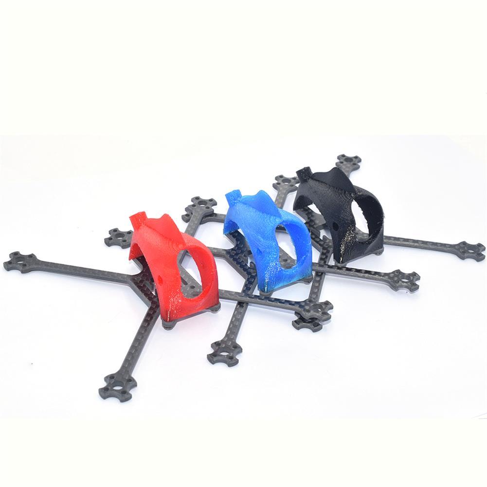 multi-rotor-parts AuroraRC FUNNY125 125mm 2.5 inch Toothpick Frame Kit 3K Carbon Fiber & TPU Red / Black / Blue HOB1818048