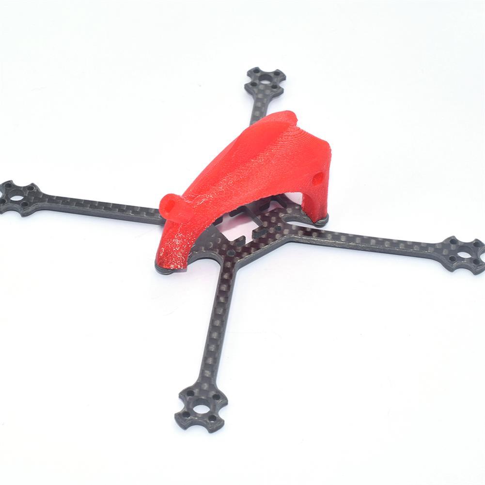 multi-rotor-parts AuroraRC FUNNY125 125mm 2.5 inch Toothpick Frame Kit 3K Carbon Fiber & TPU Red / Black / Blue HOB1818048 3