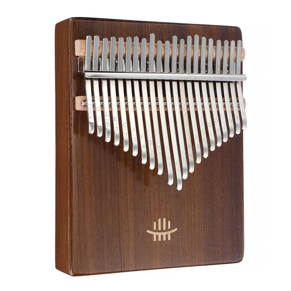 kalimba HLURU 21 Key Kalimba Finger instrument Thumb Piano Song Book Stickers Kalimba Kit +Bag HOB1818135 1