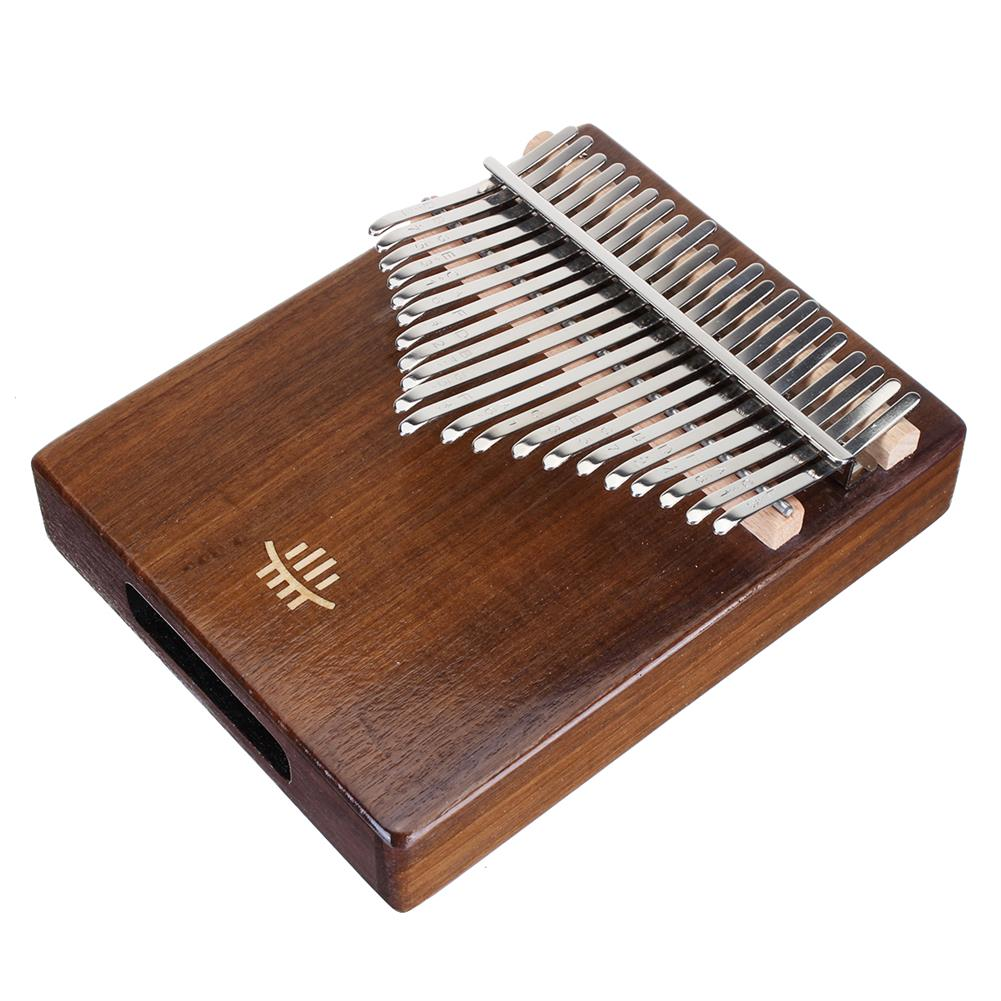 kalimba HLURU 21 Key Kalimba Finger instrument Thumb Piano Song Book Stickers Kalimba Kit +Bag HOB1818135 2