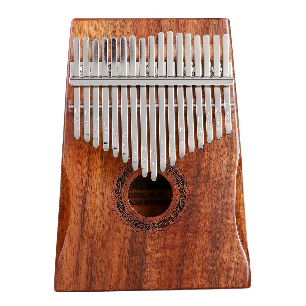 kalimba HLURU 17 Keys Kalimba FingerThumb Piano Beginner Practical Wood Muscial instrument HOB1818147 1