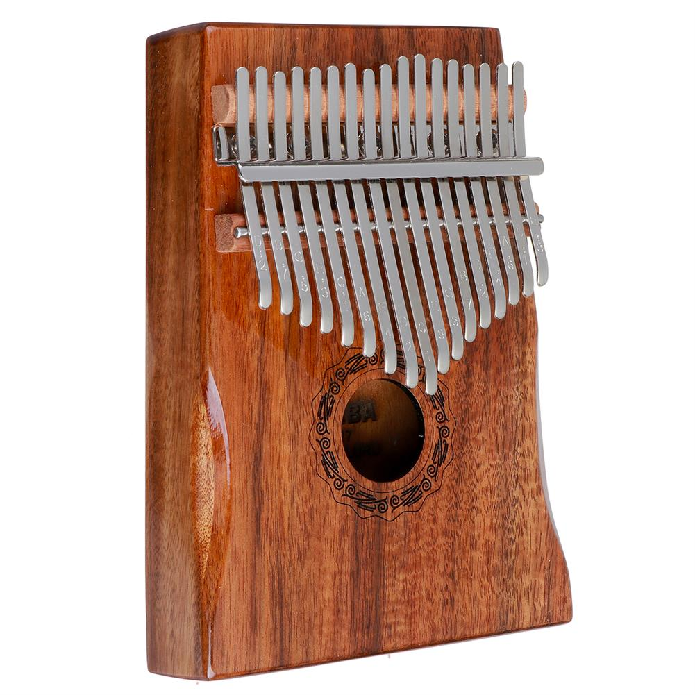 kalimba HLURU 17 Keys Kalimba FingerThumb Piano Beginner Practical Wood Muscial instrument HOB1818147 2