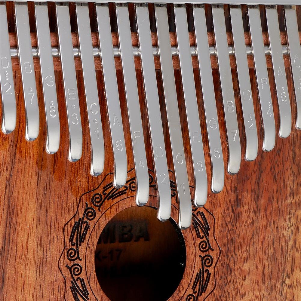 kalimba HLURU 17 Keys Kalimba FingerThumb Piano Beginner Practical Wood Muscial instrument HOB1818147 3