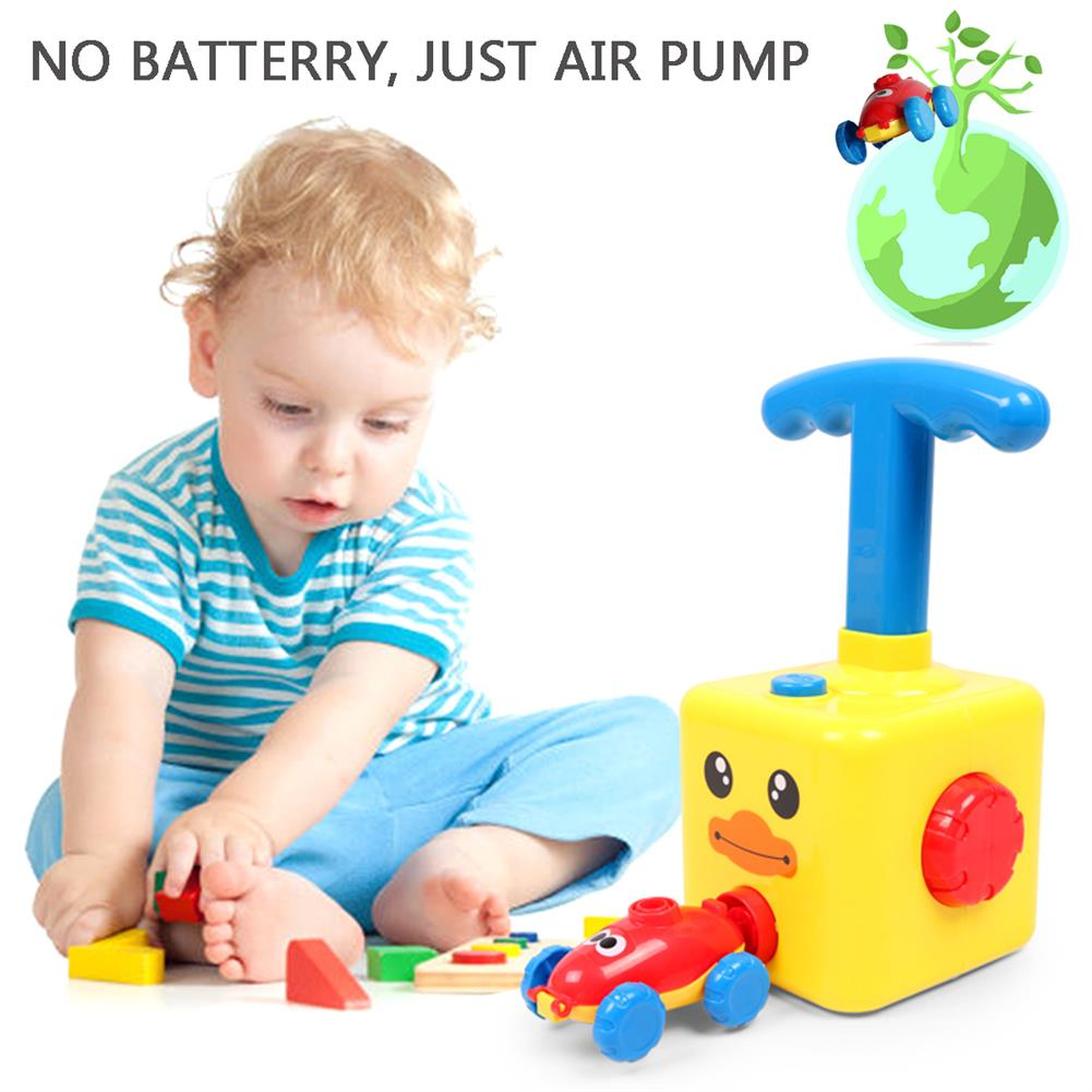 puzzle-game-toys NEW Fun inertia Balloon Powered Car Toys Aerodynamics inertial Power Kids Gifts HOB1818651 3