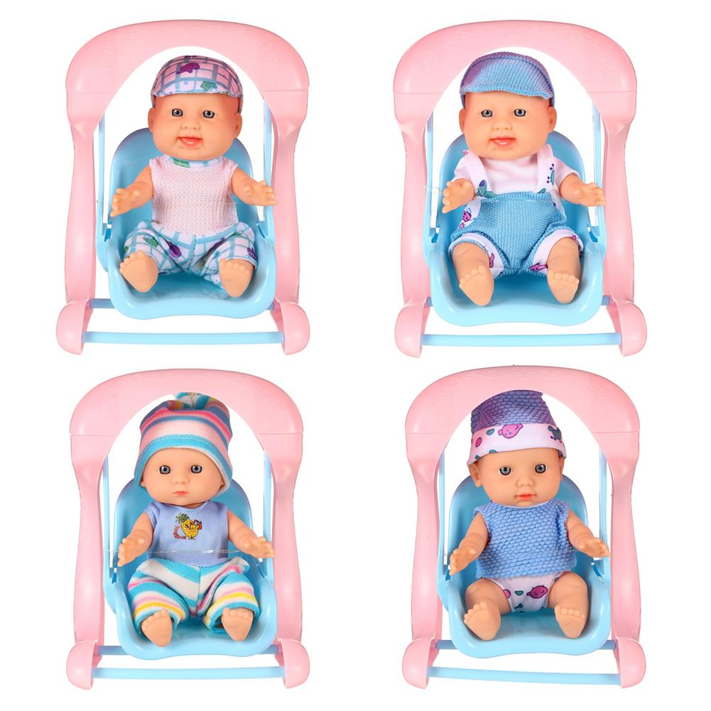 dolls-action-figure Simulation Baby 3D Creative Cute Doll Play House Toy Doll Vinyl Doll Gift HOB1818655 1
