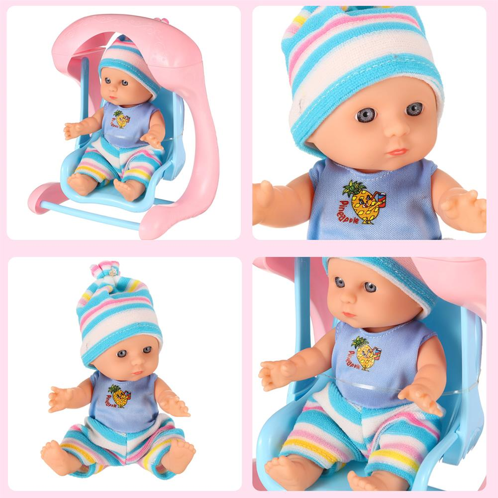 dolls-action-figure Simulation Baby 3D Creative Cute Doll Play House Toy Doll Vinyl Doll Gift HOB1818655 2