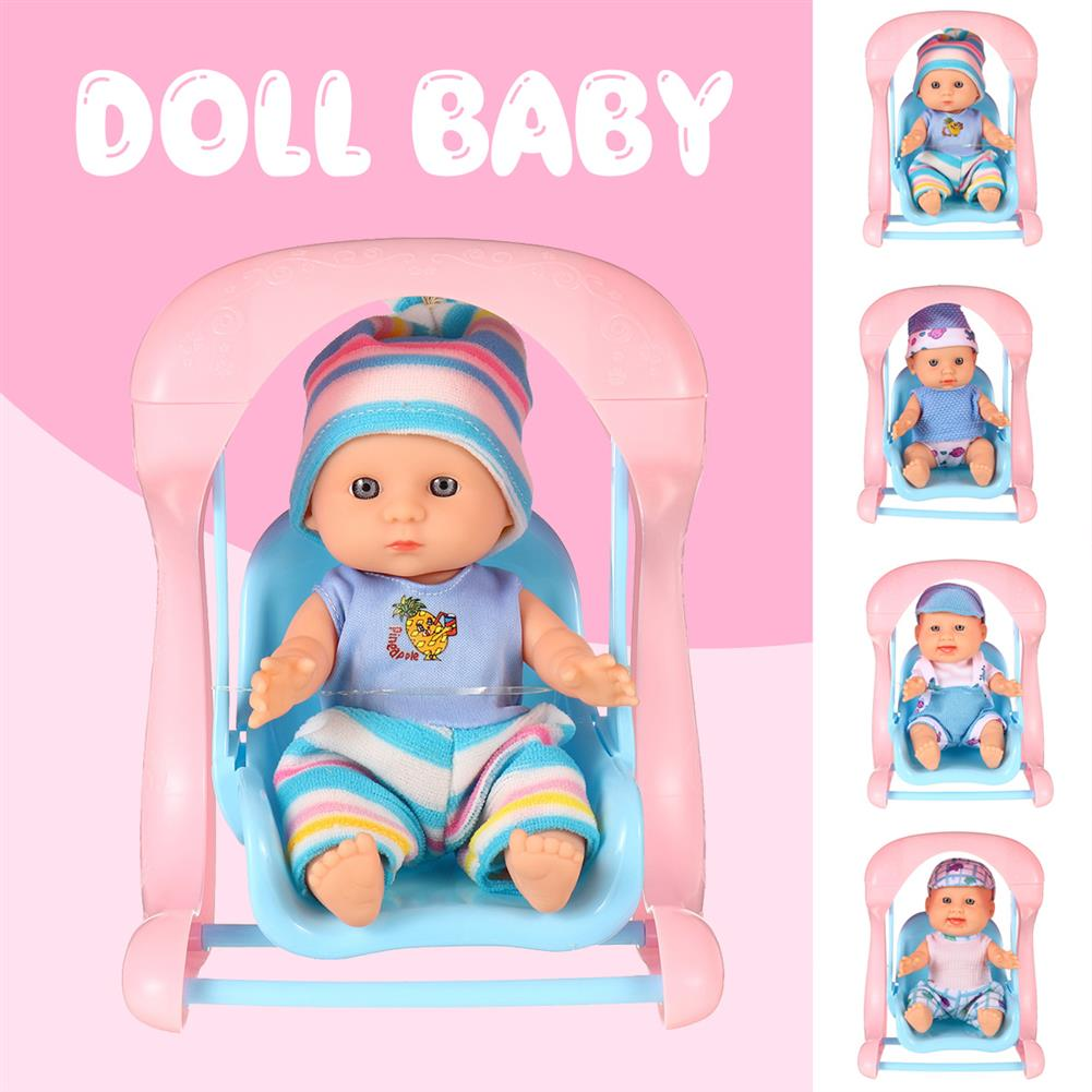dolls-action-figure Simulation Baby 3D Creative Cute Doll Play House Toy Doll Vinyl Doll Gift HOB1818655 3