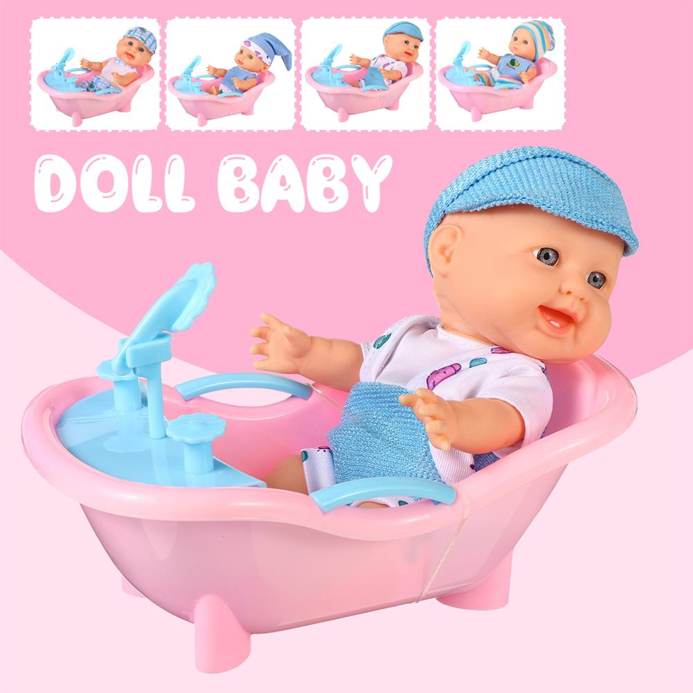 dolls-action-figure Simulation Baby 3D Creative Cute Doll Play House Toy Doll Vinyl Doll Gift HOB1818656 1