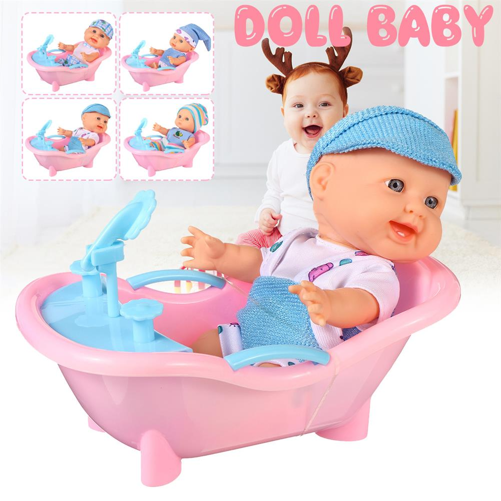 dolls-action-figure Simulation Baby 3D Creative Cute Doll Play House Toy Doll Vinyl Doll Gift HOB1818656 2