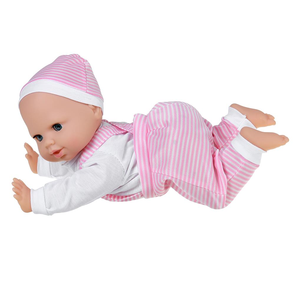 dolls-action-figure 13inch Simulation Vinyl Doll Crawling Doll Baby Crawling Toddler Simulation Doll Children's Toys HOB1818658 2