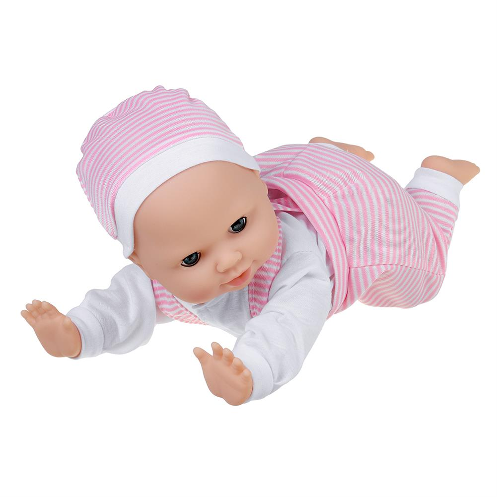 dolls-action-figure 13inch Simulation Vinyl Doll Crawling Doll Baby Crawling Toddler Simulation Doll Children's Toys HOB1818658 3