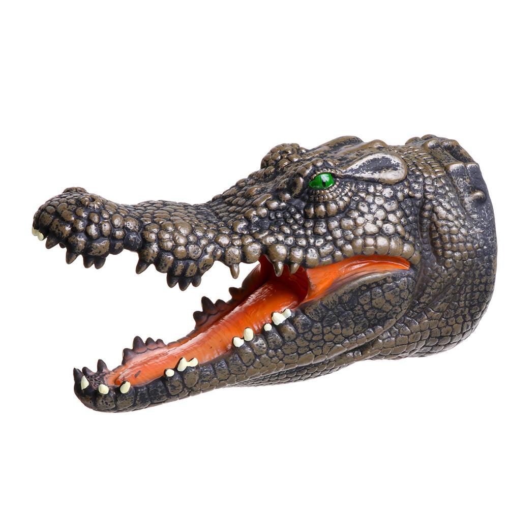 decoration Simulation Dinosaur Crocodile Hand Puppet Gloves Toys HOB1818660 3