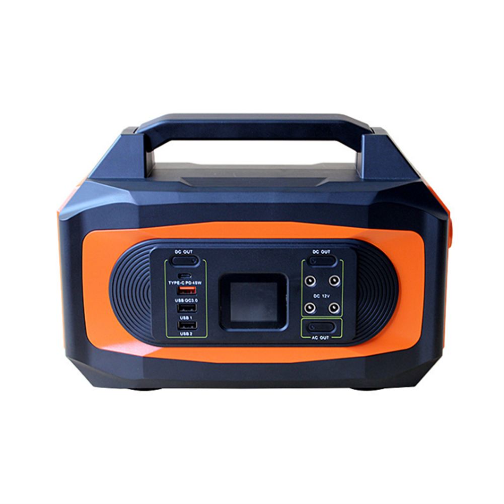rc-quadcopter-parts G518 Portable Power Supply Station 110V/500W 96000mAH Energy Storage Solar Generator for RC Drones Outdoors Camping Travel Emergency HOB1821325