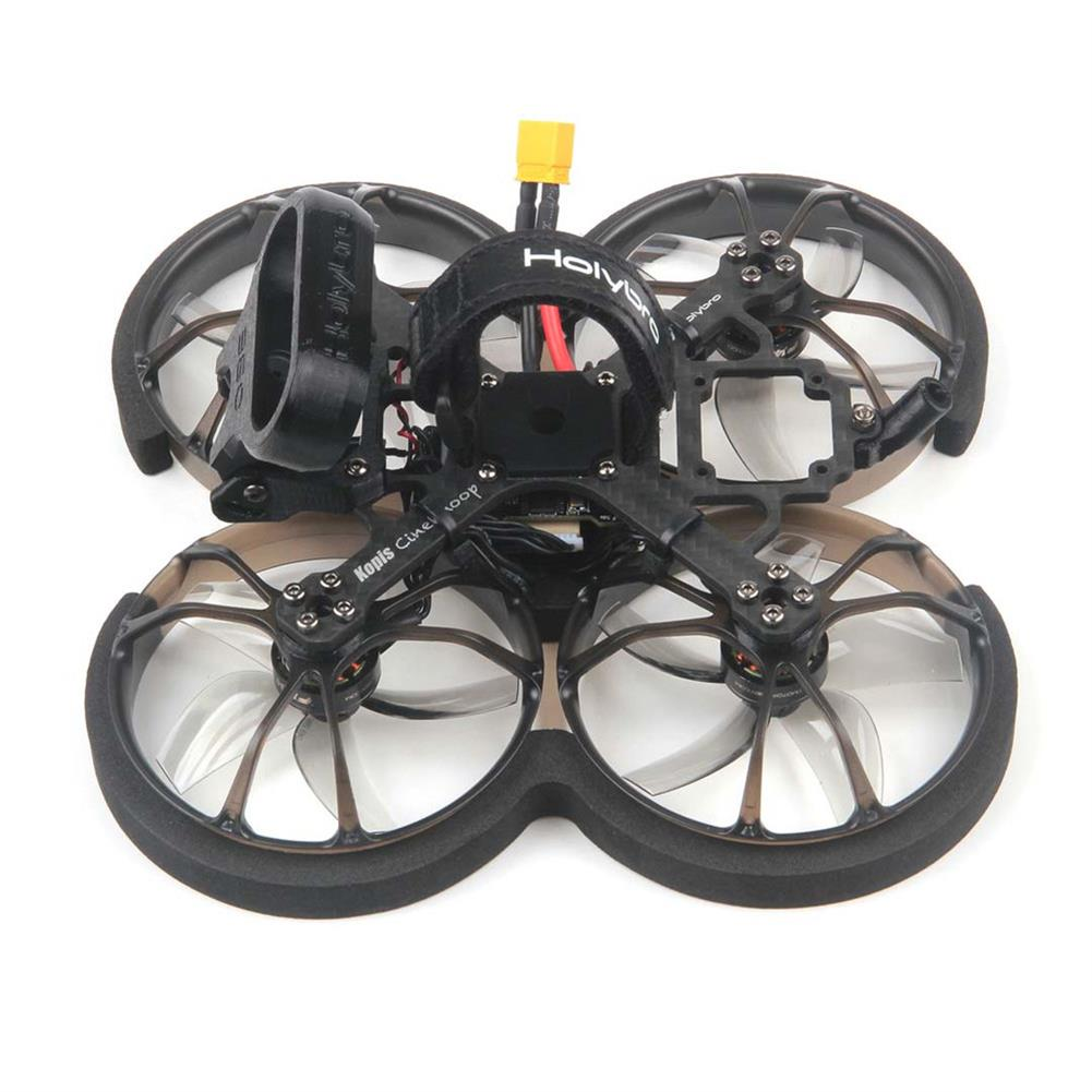 fpv-racing-drone Holybro Kopis CineWhoop 2.5 inch 4S Kakute F4 V2 Mini Flight Controller 35A ESC Whoop FPV Racing Drone PNF without Caddx Nebula Pro Vista Kit HD Digital System Version HOB1821431 3