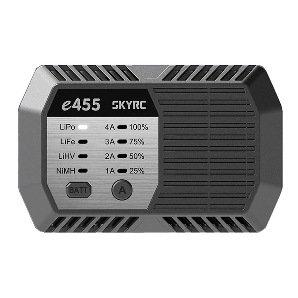 battery-charger SKYRC E455 50W 4A Multi Chemistry Balance Charger for LiPo/Life/ LiHV/NiMH Battery HOB1821607
