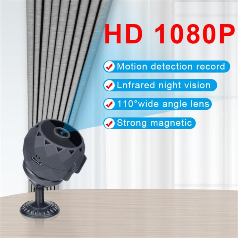 fpv-system MD30 1080p HD Wide-angle Cellular Camera WIFI Wireless Network Home Monitoring Outdoor insert Memory Card HOB1823470