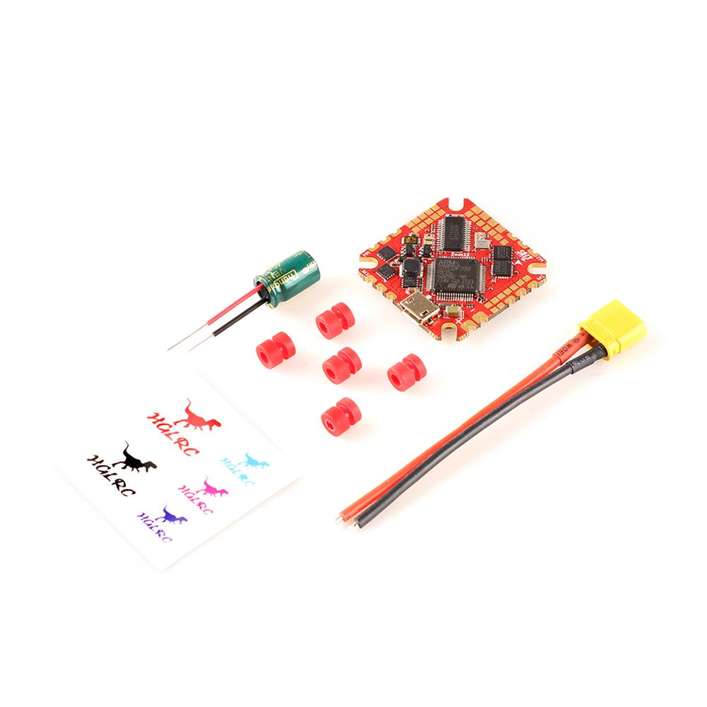 multi-rotor-parts 25.5x25.5mm HGLRC Zeus13 AIO 3-6S F722 F7 OSD Flight Controller with 5V 10V BEC Output integrated w/ 13A BL_S 4in1 ESC Compatible DJI Air Unit Caddx Vista HD for RC Drone FPV Racing HOB1824611 3