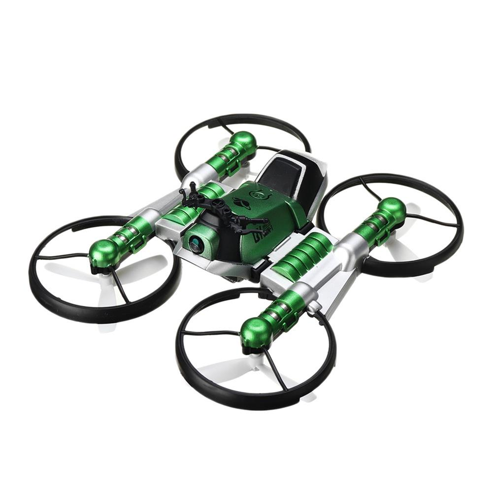 rc-motorcycle-rc-vehicles Qun Yi Toys H6 2.4G 2 in 1 WIFI FPV RC Deformation Motorcycle Quadcopter Car RTR Model HOB1826598 1