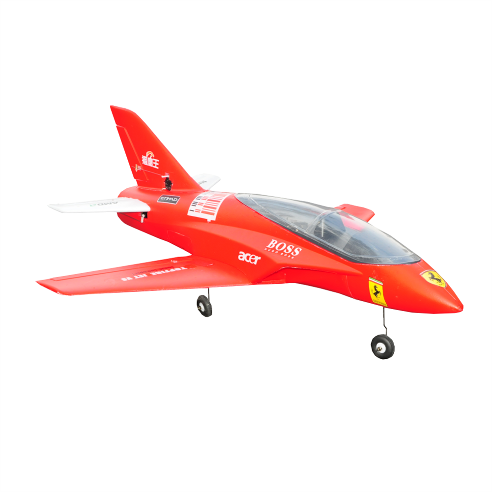 rc-airplane Viper V8 Undead Wizard 750mm Wingspan 64mm Ducted Fan EDF EPO Warbird RC Airplane KIT HOB1827084